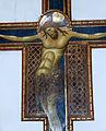 Giunta pisano, crocifisso di s. domenico, 1250 ca. 05.JPG