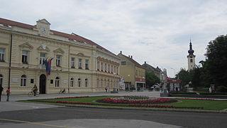 Koprivnica City in Koprivnica-Križevci, Croatia