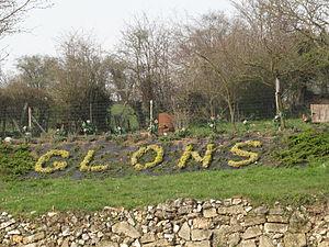 Glons - Image: Glons, Glons in bloemen foto 6 2011 03 25 16.12