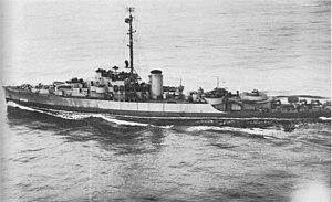 USS Gloucester (PF-22) - Image: Gloucester (PF 22)