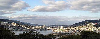 Glover Garden - Overlooking Nagasaki harbor