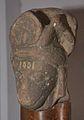 Goat-faced Head of Naimesha - Pali Khera - ACCN 15-1001 - Government Museum - Mathura 2013-02-24 6063.JPG