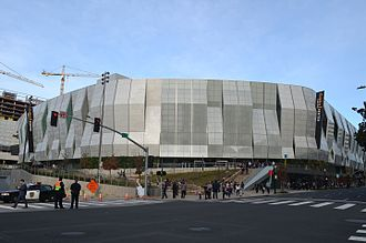 Golden 1 Center - Image: Golden 1 Center 2017