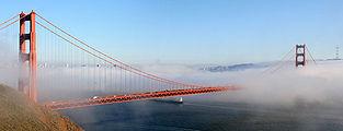 Golden Gate Bridge, San Francisco and Sutro Tower.jpg