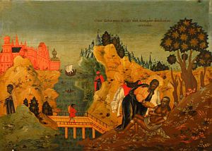 Good Samaritan (russian icon)