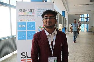 Gopi Shankar Madurai - Gopi Shankar Madurai at WorldPride Madrid Summit, Spain (June 2017)