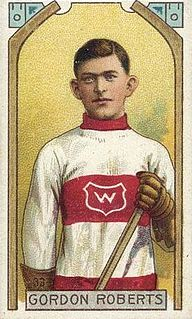 Gordon Roberts (ice hockey) Canadian ice hockey player