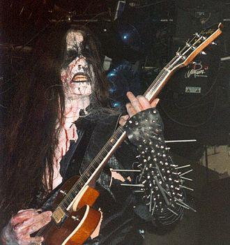 Infernus - Image: Gorgoroth live at John Dee 04