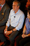 Governor of Florida Jeb Bush, Announcement Tour and Town Hall, Adams Opera House, Derry, New Hampshire by Michael Vadon 18.jpg