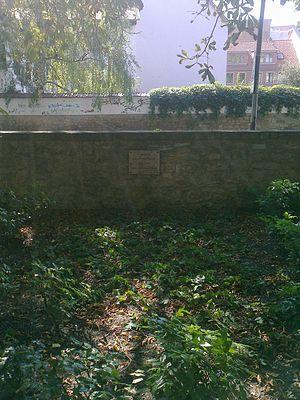 Johann Moritz Richter - Richter's grave in Weimar