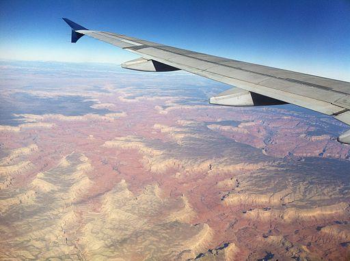 Grand Canyon, altitude