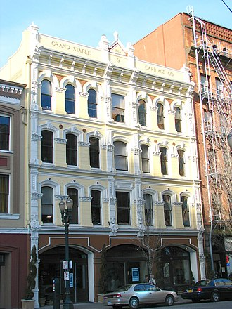 Warren Heywood Williams - Image: Grand Stable Building Portland Oregon
