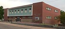 Grant County, Nebraska courthouse from NE 2.JPG