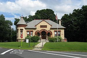 Granville, Massachusetts - Image: Granville Public Library, Granville MA