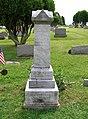 Gravestone of Nicholas Kramer in Evans City Cemetery, Evans City, PA - July 2017.jpg