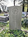 Gravestone of T. S. Griffiths of the Royal Army Service Corps at Church of St John the Baptist, Sully, April 2021.jpg