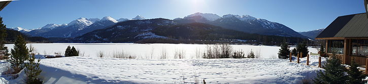 Green Lake, près de Whistler, site des jeux olympiques d'hiver de 2010