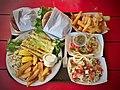 Grilled swordfish, fish sandwich, fish tacos - 47345668791.jpg