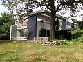 Gropius House, Lincoln, Massachusetts - View from Side Rear.JPG