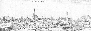 Grünberg, Hesse - Image: Gruenberg De Merian Hassiae