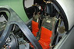 Grumman A-6A Intruder simulator cockpit Martin Baker Mk GRU-5 ejection seats (6091227525).jpg