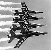 Grumman F11F-1 Tiger Blue Angels