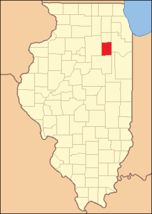 Grundy County, Illinois - Image: Grundy County Illinois 1841
