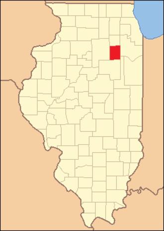 Grundy County, Illinois - Image: Grundy County Illinois 1841