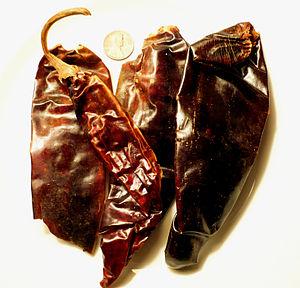 Guajillo chili - Several dried guajillo chiles