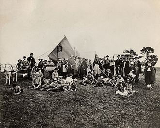 The Gunnery - Gunnery Camp, called the first organized summer camp
