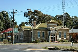 Upper Lachlan Shire - The Shire Council office in the main street of Gunning in 2008