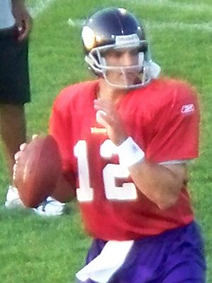 Gus Frerotte - Gus Frerotte in Vikings training camp (2008)
