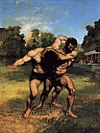 Gustave Courbet - The Wrestlers - WGA5462.jpg