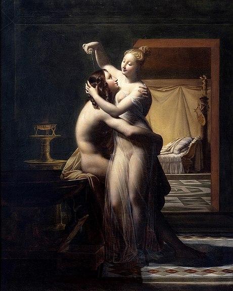 Le baiser dans l'Art - Page 13 461px-H%C3%A9ro_et_L%C3%A9andre-Pierre-Claude_Delorme_mg_8210