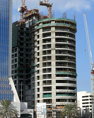 HHHR Tower - Image: H.H.H. Tower Under Construction on 28 December 2007