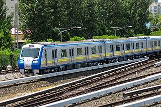 Beijing Subway rapid-transit rail network in Beijing, China
