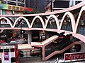 HK CWB Yee Wo Street round shape footbridge Causeway Bay stairs Jan-2013.JPG