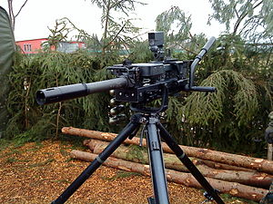Heckler & Koch GMG - A GMG of the German Army.