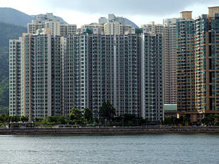 「天宇海」的「平台層」處於地面這一點明顯是不合常理,突顯目前規管樓層序數編排的作業備考仍有不妥善的地方。 (圖片:Chong Fat@Wikimedia)