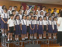 HK SW King's College Old Boys' Association Primary School Open Day 6 Students.JPG