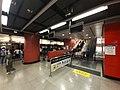 HK TKO 將軍澳站 Tseung Kwan O MTR Station platform November 2019 SS2 03.jpg