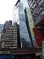 HK tram tour view 灣仔 Wan Chai 軒尼詩道 Hennessy Road 堅拿道天橋 Canal Road Flyover July 2019 SSG 02.jpg