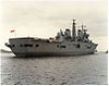HMS Ark Royal - Leaving the Tyne for the first time on trials 19th October 1984.jpg