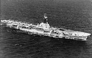HMS Glory (R62) off Korea 1951
