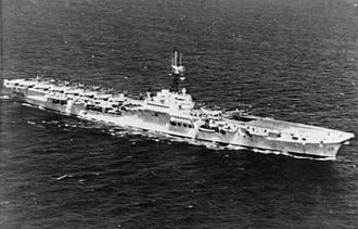 1942 Design Light Fleet Carrier - HMS Glory during her 1951 deployment to the Korean War