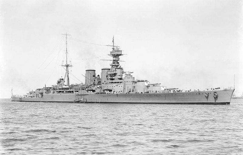 HMS Hood Type 51 Battlecruiser - Hood was an Admiral class Battlecruiser