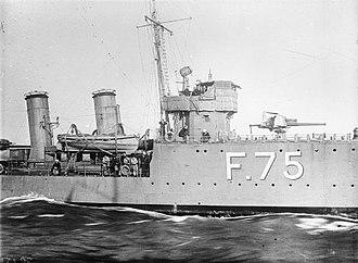 HMS Torrid (1917) - Image: HMS Torrid (1917) IWM SP 1510