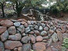 Mur En Cailloux pierre sèche — wikipédia