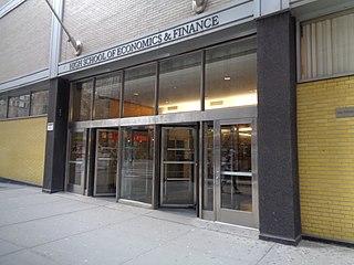 High School of Economics and Finance Public (secondary school) secondary school in New York, New York, USA
