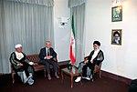 Hafez al-Assad visit to Iran, 1 August 1997 (7).jpg